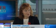Commissioner Legault appears on CTV Power Play with Don Martin